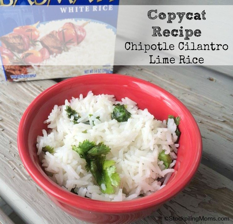 how to make chipotle cilantro lime brown rice