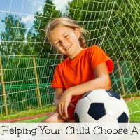 Helping Your Child Choose A Fall Sport To Participate In