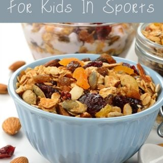 High Energy Healthy Snacks For Kids In Sports