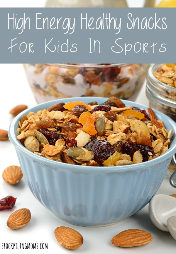 High Energy Healthy Snacks For Kids in Sports. That fuel their body and mind.
