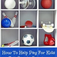 How To Help Pay For Kids Fall Sports Supplies