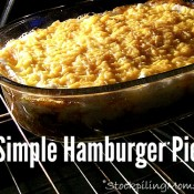 Simple Hamburger Pie3