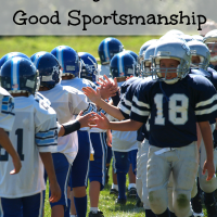 Teaching Your Kids Good Sportsmanship