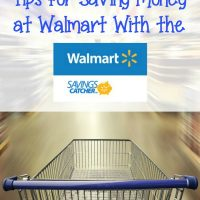 Tips for Saving Money at Walmart with the Walmart Savings Catcher