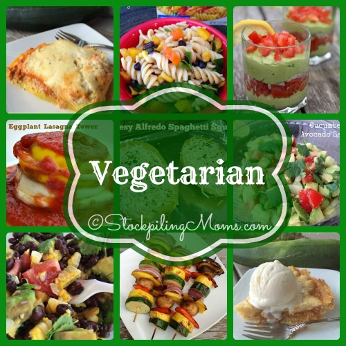 Vegetarian Recipes that you will be sure to fall in love with! #glutenfree #cleaneating