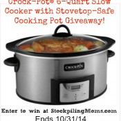 Crock Pot Giveaway Final