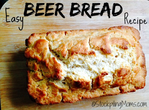 This Easy Beer Bread Recipe is so good and could not be simpler to make! The thing I love about Beer Bread is the crunchy outside layer, which I think is perfect for dipping in appetizers.