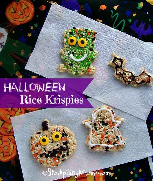 halloween rice krispies treats - Rice Krispies Halloween