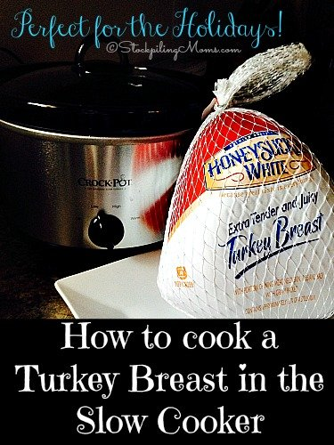With the holidays approaching here is a great alternative to making your turkey in the oven you can cook it in your crockpot!