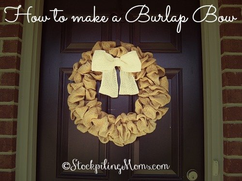 How to make a Burlap Bow4
