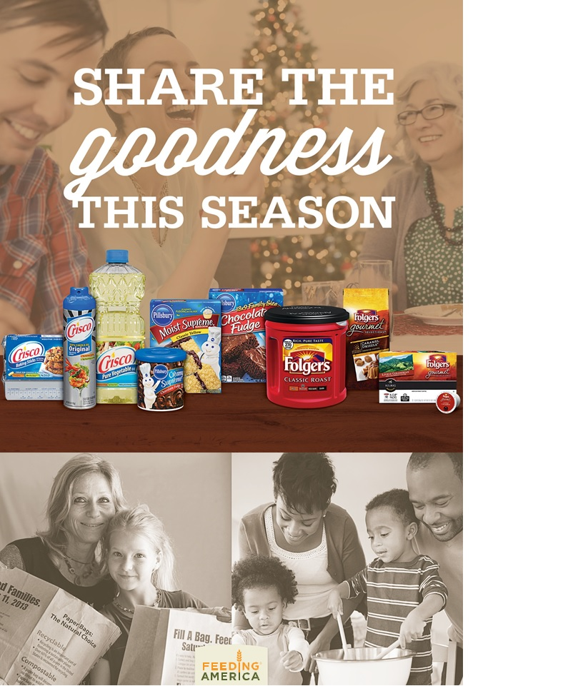 Share the goodness this season by redeeming coupons with JM Smucks and Feeding America