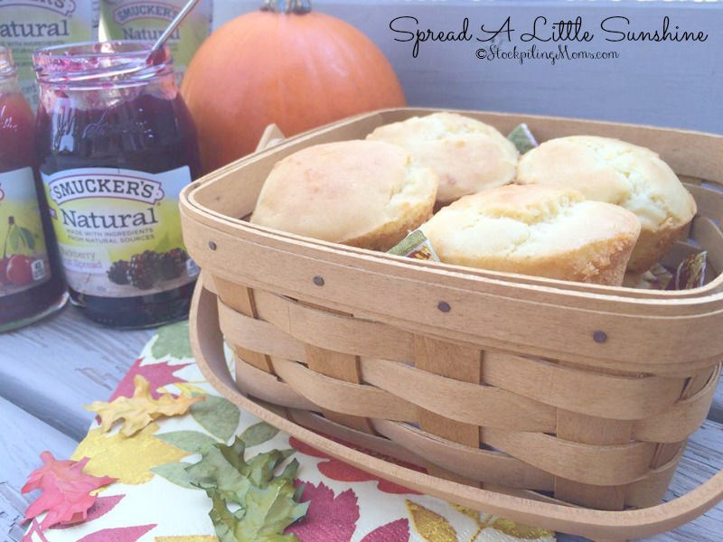 Jelly Muffins Recipe - is an affordable solution to making fruit muffins because Jelly costs far less than fresh or even frozen fruit plus they are delicious!