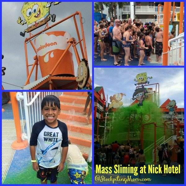 Mass Sliming at Nick Hotel