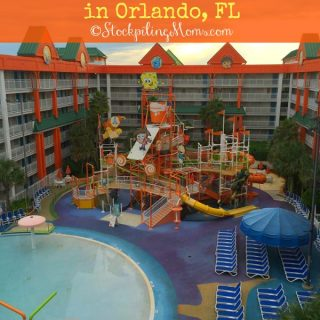 Nickelodeon Suites Resort – A Kid Friendly Vacation in Orlando, FL