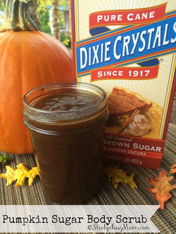 Pumpkin Brown Sugar Body Scrub exfoliates and moisturizes at the same time but best of all it has a delicious scent (yep, I almost wanted to eat it). Made with a few inexpensive pantry ingredients that you most likely already have (I did). The added health benefits of using these natural ingredients so beneficial to your skin.