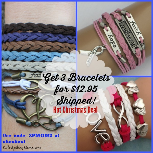 We have a super Hot #Christmas #Deal for you! Get 3 ModWrap Bracelets for only $12.95 shipped!