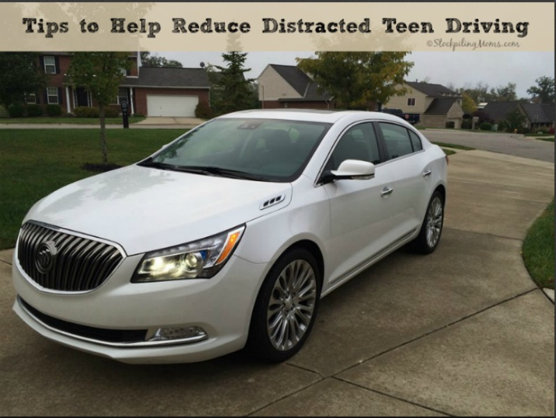 Tips to Help Reduce Distracted Teen Driving