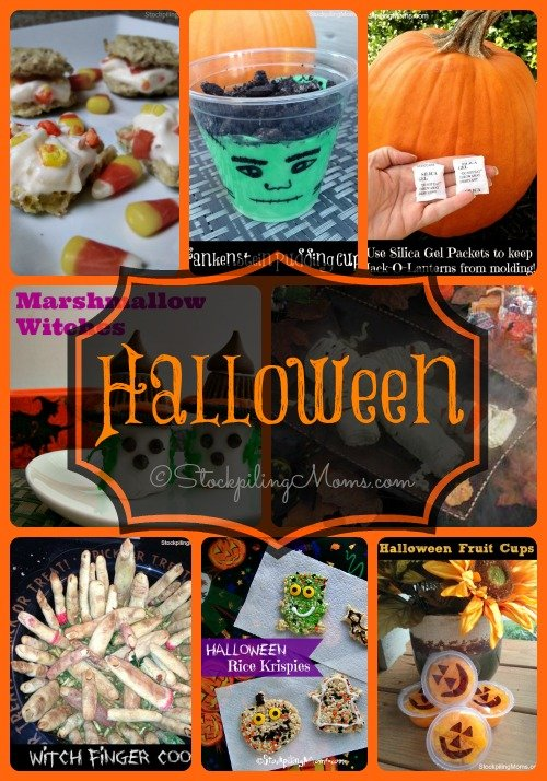 Halloween Ideas that are super easy and quick! Be ready for Trick or Treating this season!