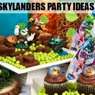 How to throw a Skylander's Birthday Party