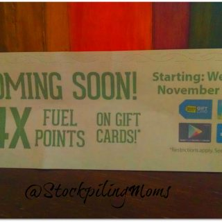 Kroger 4X is Coming!!