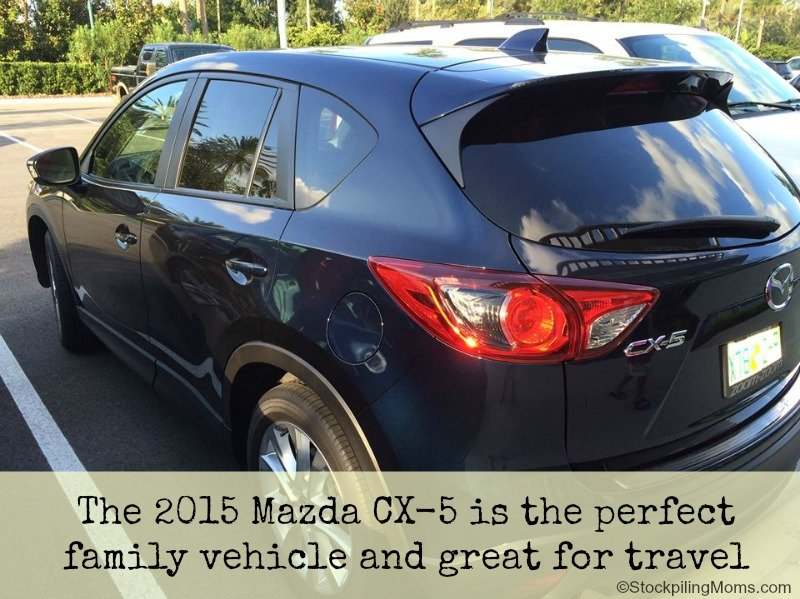 2015 Mazda CX-5 is the perfect family vehicle and great for travel 2