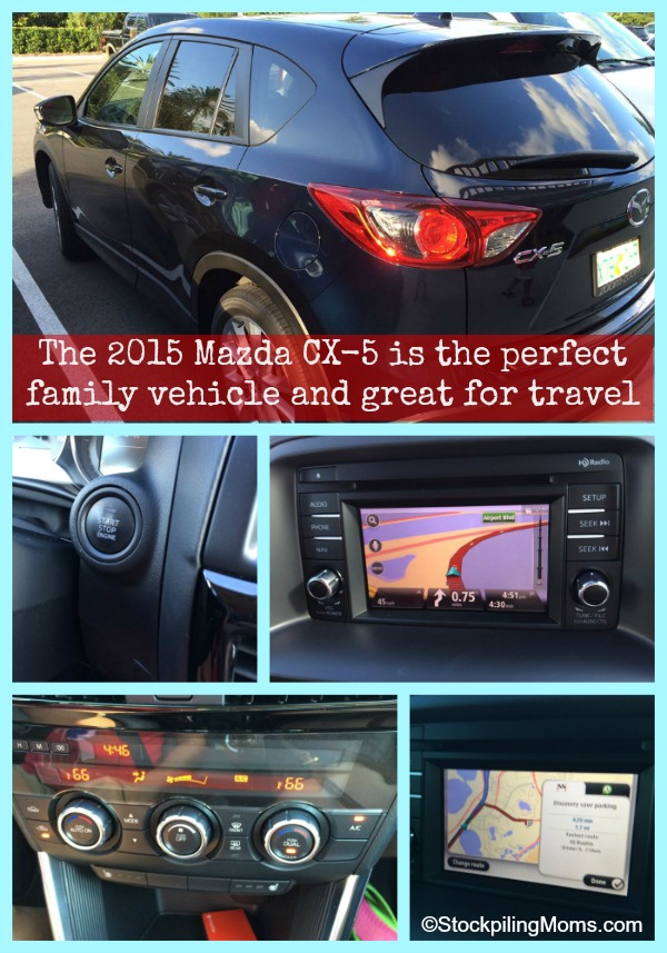 2015 Mazda CX-5 is the perfect family vehicle and great for travel
