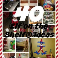 Here are 40 Elf on the Shelf® Ideas that can help you this Christmas Season! Our boys love these fun and creative ideas! Some are creative and others you can put together in 5 minutes or less!