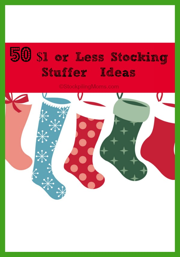 50 $1 or Less Stocking Stuffer  Ideas