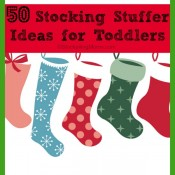 50 Stocking Stuffer Ideas for Toddlers