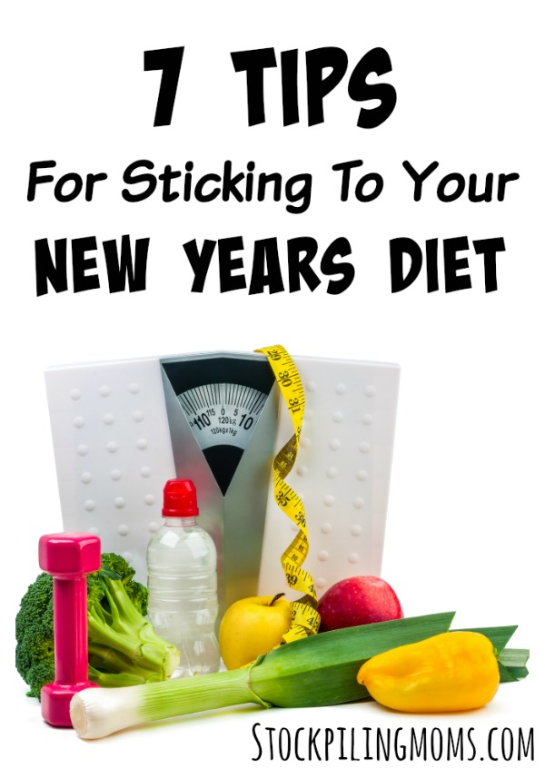 7 Tips For Sticking To Your New Years Diet
