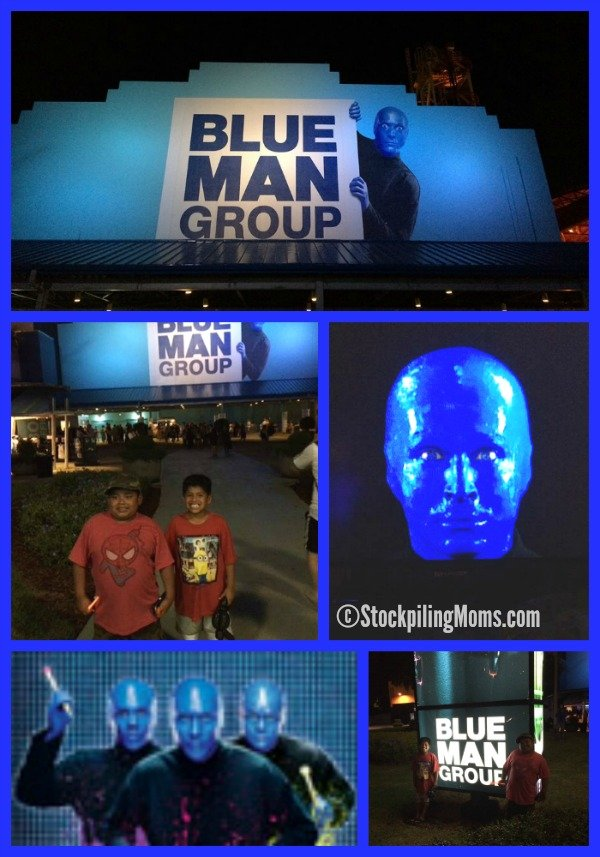 Our review of the Blue Man Group Live at Universal Orlando