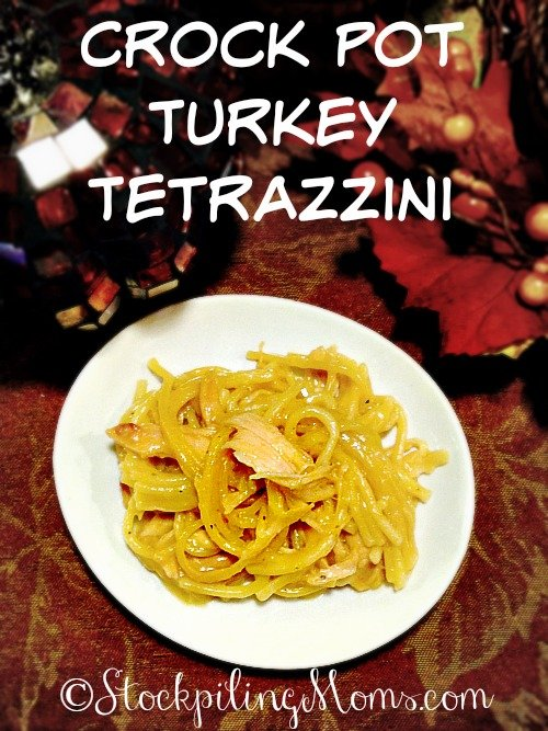 Crock Pot Turkey Tetrazzini is a must have dish after Thanksgiving. It ...