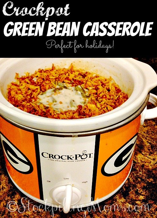 Crockpot Green Bean Casserole3