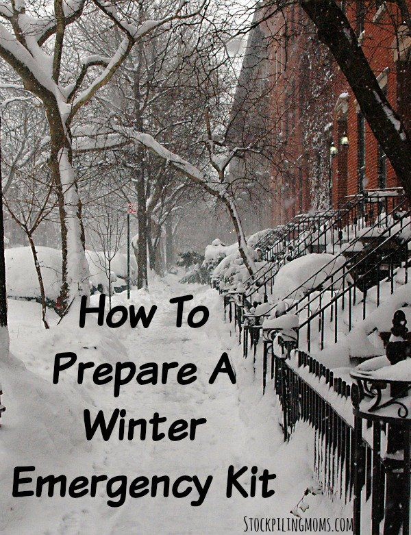 How To Prepare A Winter Emegency Kit