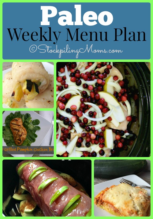 Enjoy our Paleo Weekly Menu Plan to help with your dinner recipes this week!