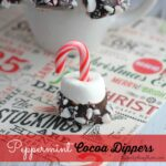 Peppermint Cocoa Dippers 4
