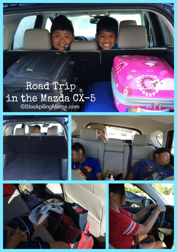 Road Trip in the Mazda CX-5 - the 2015 Mazda CX-5 is the perfect family vehicle and great for travel
