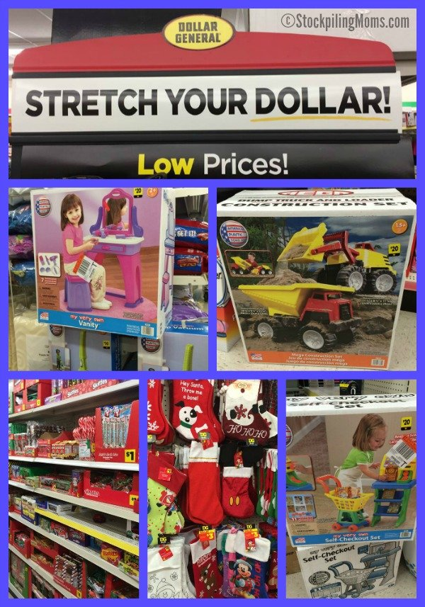 Stretch Your Dollar at Dollar General - How to provide a budget friendly Christmas for your kids
