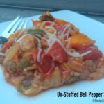Un-Stuffed Bell Pepper Skillet Supper Recipe