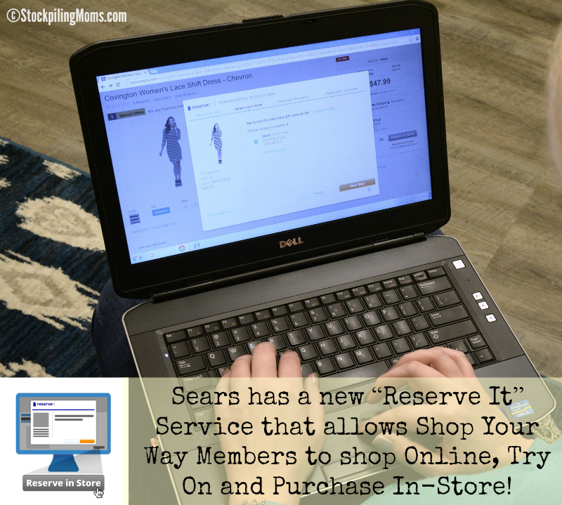 Sears offers a new Reserve It service to Shop Your Way Rewards Members