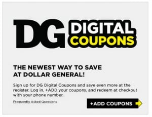 Dollar General Now Offers Digital Coupons
