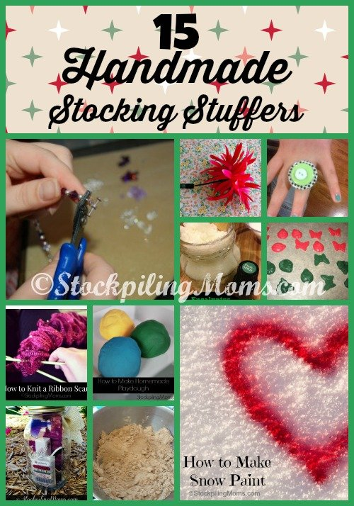 Here are 15 Handmade Stocking Stuffers that are sure to please!