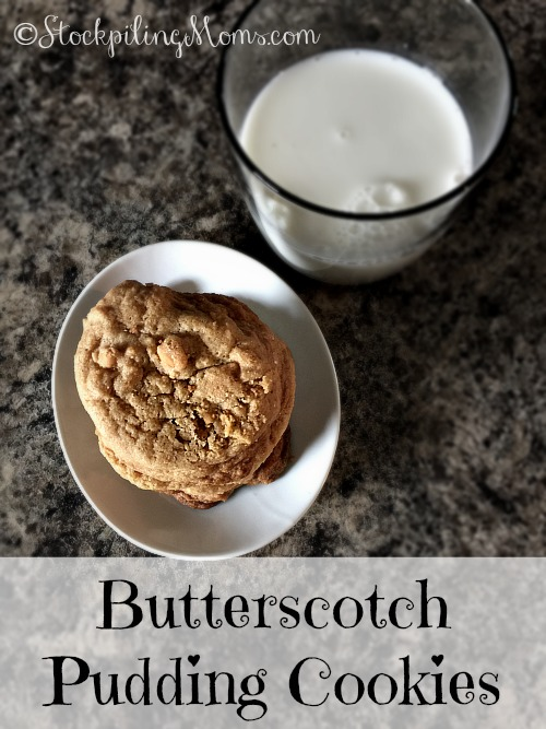 Butterscotch Pudding Cookies are simply amazing with a soft, chewy texture!