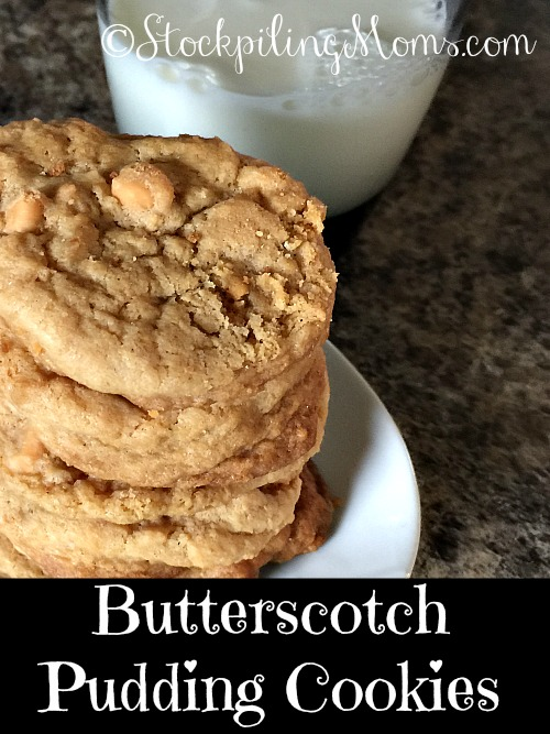 Butterscotch Pudding Cookies are simply amazing with a soft, chewy ...