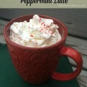 Copycat Starbucks Peppermint Latte - Easy Version!