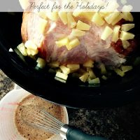 Crockpot Pineapple Ham