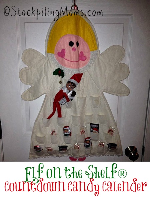 Elf on the Shelf® Countdown Candy Calender