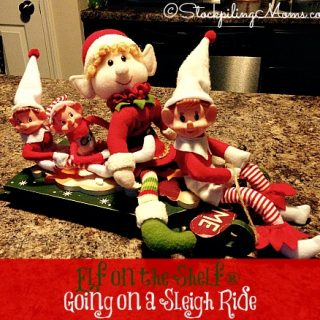 Elf on the Shelf® Going on a Sleigh Ride