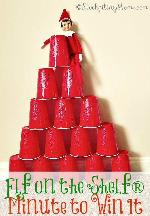 Elf on the Shelf® Minute to Win It -Let's play some games!