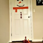 Elf on the Shelf® Snowman Door Decoration